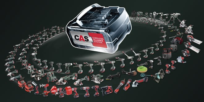 Popular - Nine power tool manufacturers team up to use the same battery pack