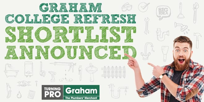 Popular - Graham announces shortlist of colleges that could win a £10,000 refresh
