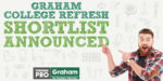 Graham announces shortlist of colleges that could win a £10,000 refresh