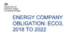 Oil boilers will NOT be excluded from the next phase of the Energy Company Obligation scheme (ECO3)