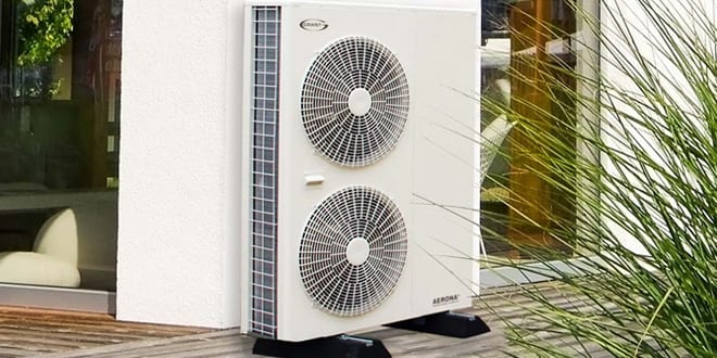 Popular - Grant launches new 12kW Grant Aerona³ air source heat pump