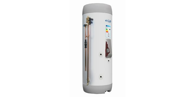 Popular - OSO Hotwater cylinder donated to Heroes of Heat charity install