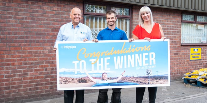 Popular - Sheffield plumber wins grand prize of the Polypipe Live Life to the Max competition
