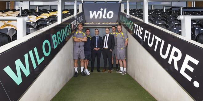 Popular - Wilo UK is sponsoring Burton Albion FC for the second season
