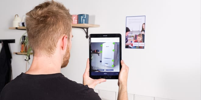 """Popular - Worcester Bosch launches new """"Augmented Reality"""" app for installers"""