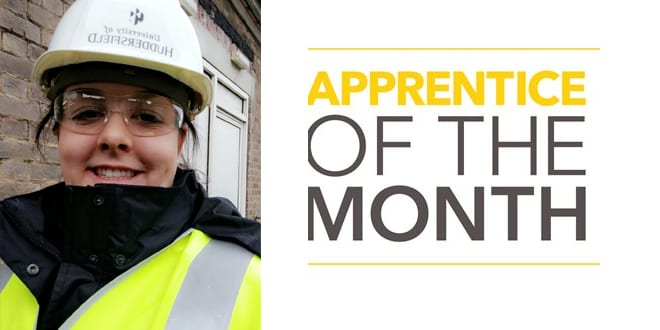 "Popular - Emma Wray wins second ""Apprentice of the Month"" accolade"
