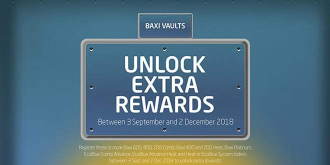Popular - Baxi brings back popular Vaults promotion for the third year