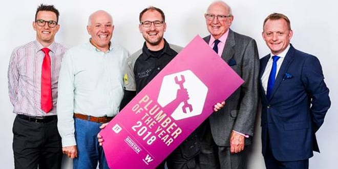 Popular - Steve Bartin crowned 2018 Plumber of the Year