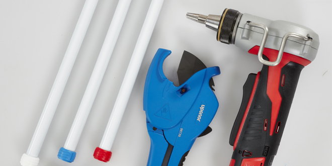 Watch 🎥 How to install Uponor's Q&E Shrink-Fit PEX pipe