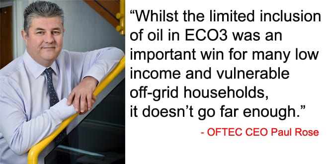 Popular - OFTEC says revisions to ECO don't go far enough to protect low income homes from fuel poverty