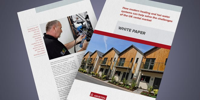 Popular - Ariston launches white paper assessing heating in the UK rental market