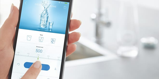 Popular - GROHE launches evolution of Blue Home still and sparkling water tap with innovative app control