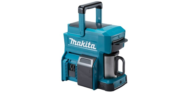 Popular - Makita launches new DCM501Z cordless on-site coffee maker