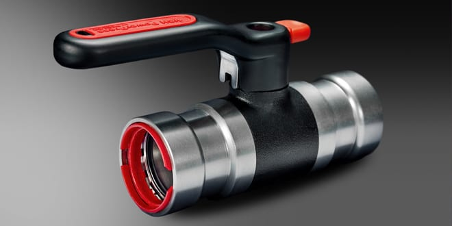 Popular - Pegler Yorkshire launches VSH PowerPress – a thick wall steel pipe press fitting range