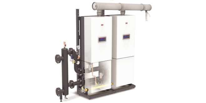 Popular - 5 things installers need to know about the Condexa Pro – the high power wall-hung condensing boiler from Vokèra by Riello