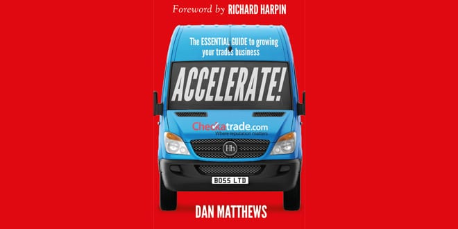 """Popular - New """"Accelerate!"""" book published to help tradespeople grow their business"""