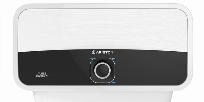 Popular - Ariston launches the Aures Slim Multi – an electric instantaneous water heater.