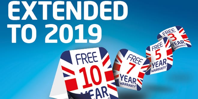 Popular - Baxi extends promotional warranties into 2019