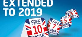 Baxi extends promotional warranties into 2019