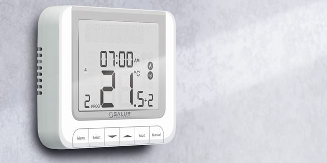 Popular - Professional review: Andrew Tyler tests out the Salus RT520 thermostat