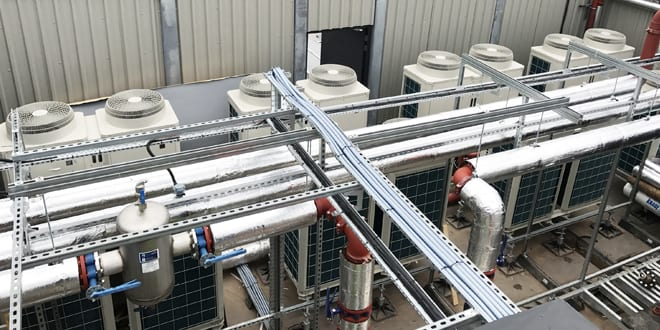 Popular - Manchester community heating scheme meets environmental and budget targets with an Ecodan system
