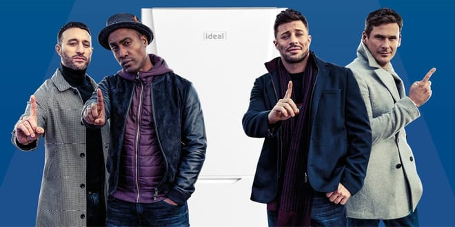 Popular - Ideal Boilers enlists boyband Blue to front its 2019 campaign
