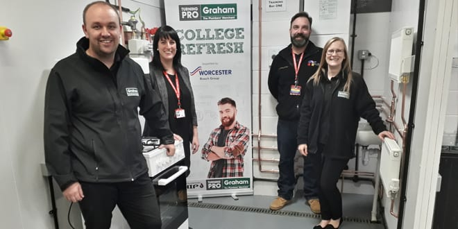 Popular - City College Norwich upgrades its heating and plumbing training facilities after winning £10,000 from Graham Plumber's Merchant's College Refresh Scheme