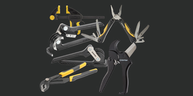 Wolseley's exclusive Raptor range of hand tools available in