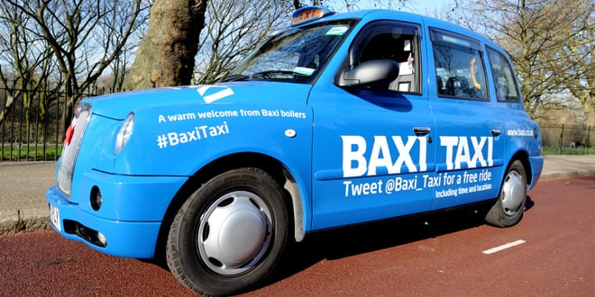 Popular - All aboard – Book a free ride with the Baxi Taxi