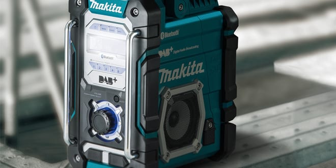Popular - Makita launches the Makita DMR112 – its first Job Site Radio with DAB and Bluetooth