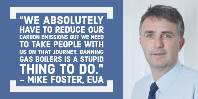 Popular - Mike Foster slams Committee on Climate Change for suggesting Gas Boilers should be banned for new-build UK homes by 2025