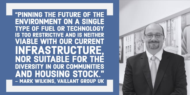 Popular - There's no silver bullet in the fight against climate change – says Vaillant's Mark Wilkins