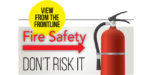 View from the Front Line – Why you should always keep a fire extinguisher on you when doing hot works