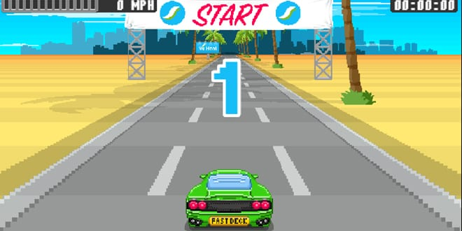 Popular - Outrun the competition with Nu-Heat's FastDeck® racing game