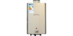 How condensing continuous flow water heaters are a good low NOx option for off-grid homes
