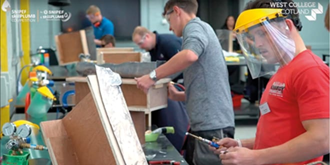 Popular - The SNIPEF SkillPLUMB apprentice competition returns to West College Scotland's Paisley Campus on Friday 21 June