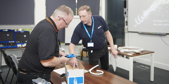 Popular - Uponor teams up with industry experts to launch new range of press fittings