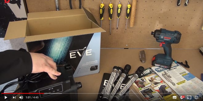 Popular - 5 things you need to know about Salamander's first-of-its-kind shower pump, EVE