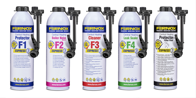 Fernox re-launches Express range of chemicals