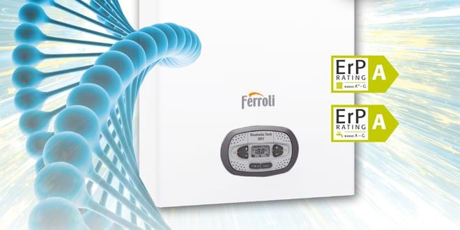 Popular - Ferroli's award-winning Bluehelix Tech RRT boiler now available in the UK