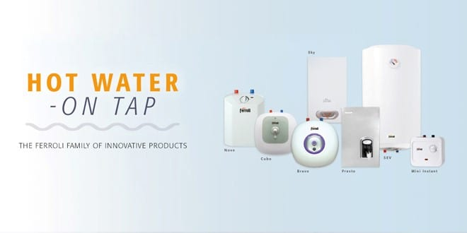 Popular - 3 things installers need to know about Ferroli electric water heaters and boilers