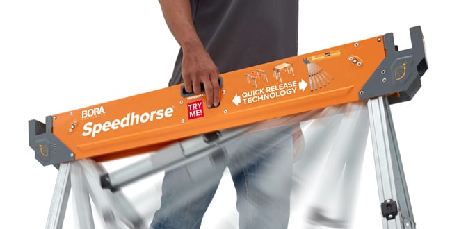 Popular - Hyde launches new BORA Speedhorse sawhorses