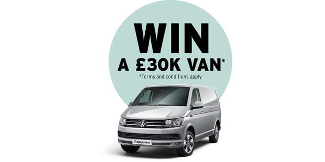 Popular - Win a Volkswagen Transporter T32 van with Vaillant