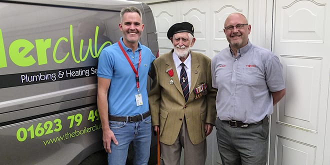 Popular - 101-year-old WW2 veteran takes out 10-year warranty on new boiler