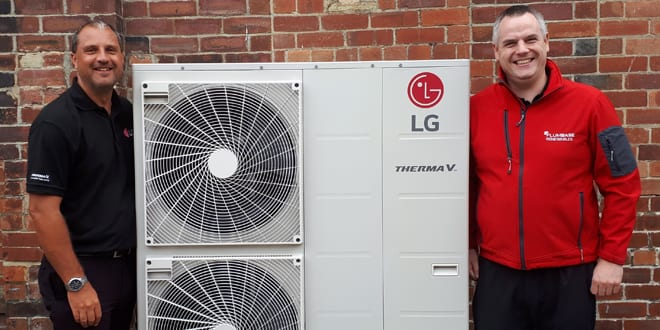 Popular - Plumbase becomes first major merchant to stock LG air to water heat pumps