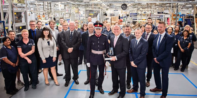 Popular - Mira Showers celebrates its second Queen's Award