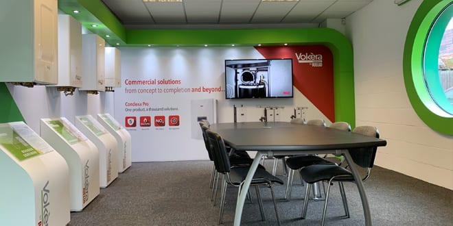Popular - Vokèra opens new showroom in its London Colney training centre