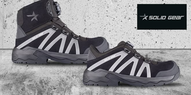 Popular - NEW from Solid Gear – the Onyx Safety Shoes and Boots