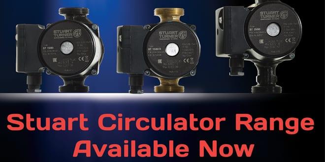 Popular - Stuart Turner launches the NEW Stuart Circulator range