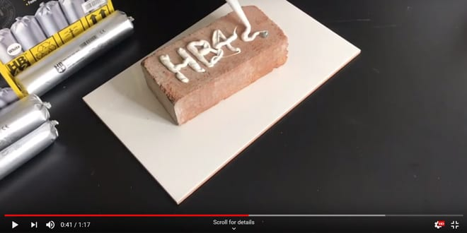 Popular - WATCH 🎥 How HB42 All-in-One Sealant and Adhesive foils work